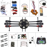 Full Set 6-axis Aircraft Kit Helicopter Drone Tarot 680PRO Frame 700KV Motor GPS APM 2.8 Flight Control 6CH Transmitter