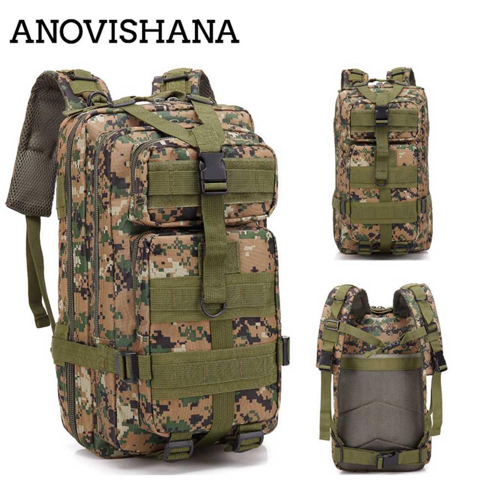 1a7666661767 ANOVISHANA 30L Tactical 3P Attack Backpack Military Camping Hiking Rucksack  Assault Backpack Army Patrol Backpack Outdoor N027