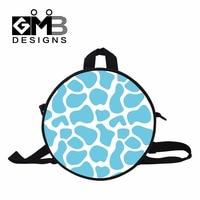 Giraffes Printing cool kindergarten backpacks personalised back packs for toddlers little day packs for toddler small bookbag