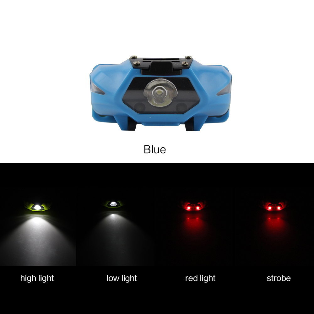 PANYUE Mini Waterproof 500Lm LED Children Headlight AA Headlamp Bike Head light with Headband for Camping Hiking Biking Kids in Headlamps from Lights Lighting