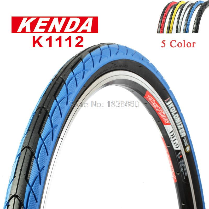 KENDA K1112 26x1.5//1.75 Mountain Bike Tyre Bald Tire Colorful Bicycle Tires