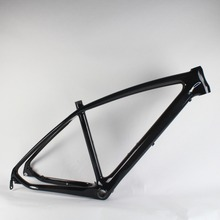 Bicycle accessories MTB  frame carbon frame for wheel 26er KQ-MB921 Size17.5inches 3k glossy finish цена 2017