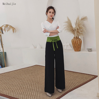 White red and black Spa uniform salon thai clothes Fashion Slim massage health Overalls set wholesale Beauty salon Work clothes
