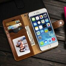 Musubo роскошные кожаные case для iphone 7 plus съемная задняя чехлы для iphone 6 plus 6s 5 5s se обложка fit автомобильный держатель магнитный чехол на айфон 7 7plus