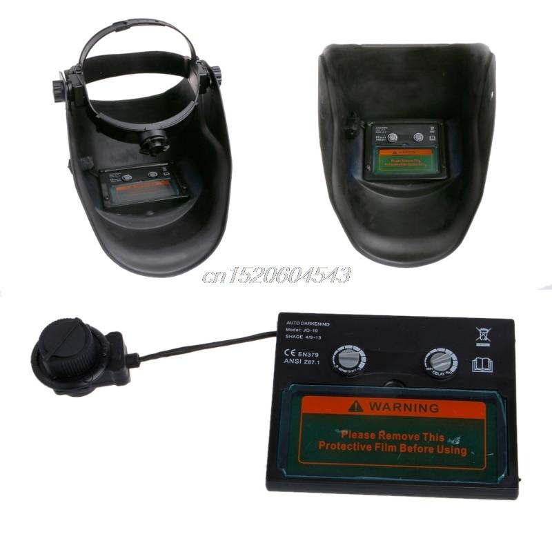 Solar Auto Darkening/Grinding Welding Filter Lens Of Welding Mask/Goggles Welding Helmet/Welder Cap UV IR Filter Shade Drop ship