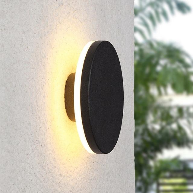 Creative wall light outdoor lamp courtyard walkway engineering porch garden corridor aisle lighting