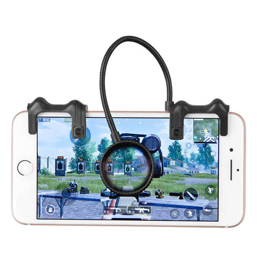 Hot Phone Mobile Gaming Trigger Fire Button Handle For