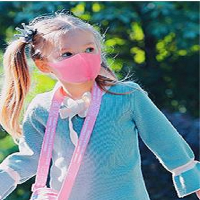Image 4 - 3Pcs/set Earloop Mask Cycling Anti Dust Haze Mouth Face Masks For  Boy Children Kids