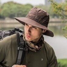 MIARA.L new outdoor folding hats wholesale womens summer dry fishermans mens sun mountaineering