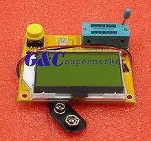 LCR-T4 ESR Meter LCR led Transistor Tester Diode Triode Capacitance MOS PNP/NPN mk 328 transistor tester capacitor esr inductance resistor meter lcr npn pnp mos