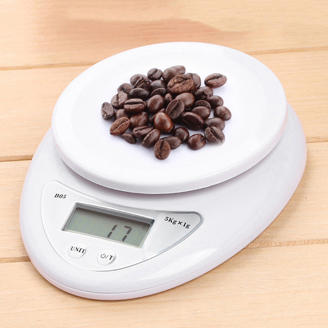 Wholesale Kitchen Food Scale High Precision 5KG Digital Scale Kitchen Cooking Measure Tool Plastic Electronic Weight Scale