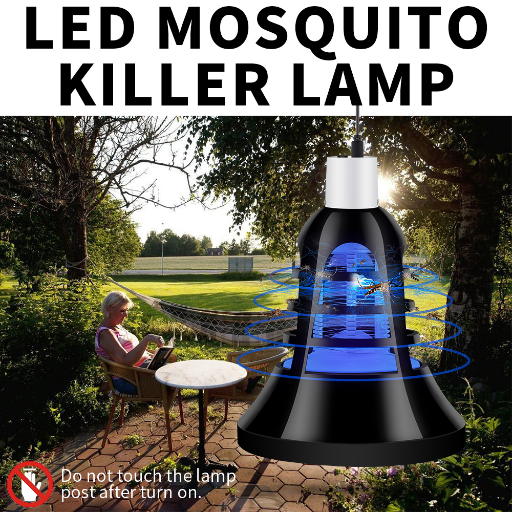 Mosquito Killer Led Trap Lamp 220V Insect Killing Light E27 Bug Zapper Led Bulb 110V Electric Photocatalyst 2 in 1 USB Bombillas