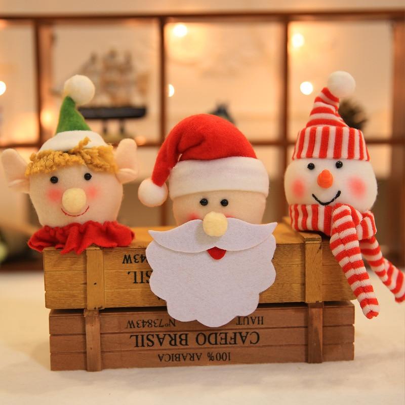 christmas wine bottle hats navidad santa xmas decorations santa claus christmas ornaments xmas bottle decorations party supplies in christmas hats from home