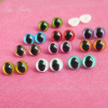 40pcs/lot new arrvial 9mm toy cat eyes plastic safety eyes for doll accessories--color option