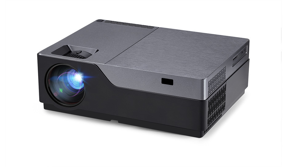 AUN Full HD M18/M18UP 1920x1080P Resolution Mini Projector With WIFI And LED 8