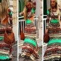 Африканские Базен Riche Платья Халат Africaine Прямых Продаж Специальное Предложение Полиэстер Женщин Африканских Одежды 2016 Печать Одежда