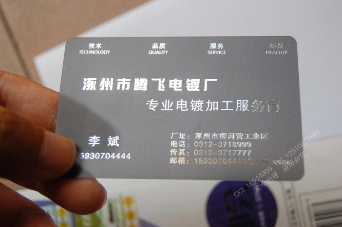 Us 49 9 Pvc Silber Folienprägung Transparenten Kunststoffkarte Hohe Qualität Matt Gesichter Durchscheinkarte Pvc Visitenkarte In Visitenkarten Aus