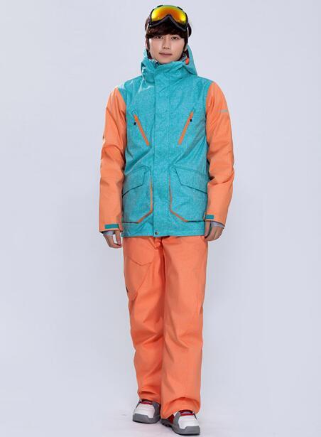 Prix pour Gsou snow ski veste hommes snowboard veste résistant à l'usure, imperméable à l'eau de neige porter chaud sport en plein air manteau hommes livraison gratuite