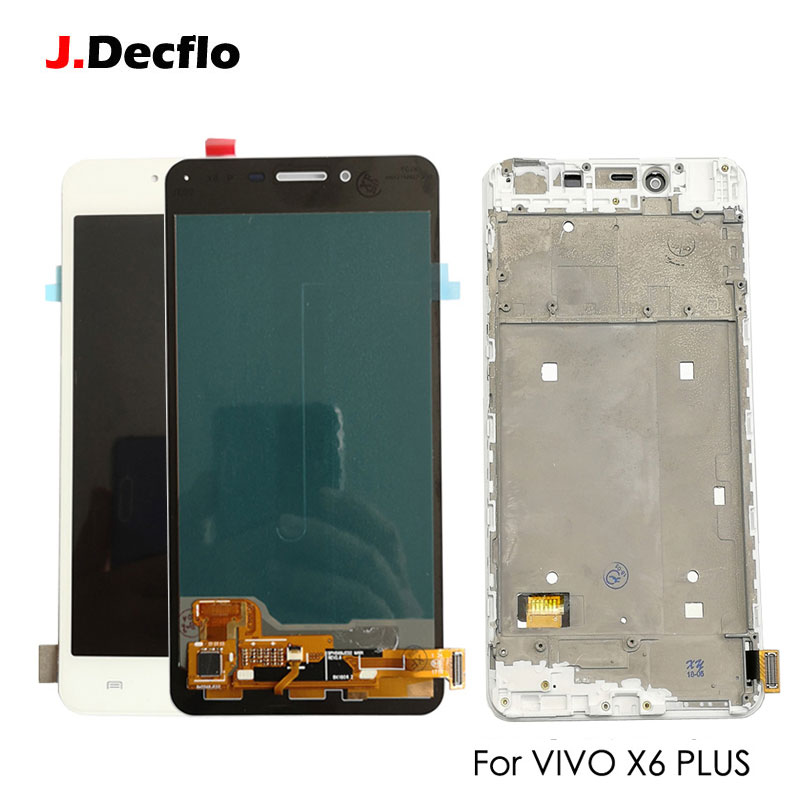 Super AMOLED Replacement For VIVO X6 Plus X6P LCD Display Touch Screen Digitizer Panel Glass Assembly Original /OEM White 5.7Super AMOLED Replacement For VIVO X6 Plus X6P LCD Display Touch Screen Digitizer Panel Glass Assembly Original /OEM White 5.7