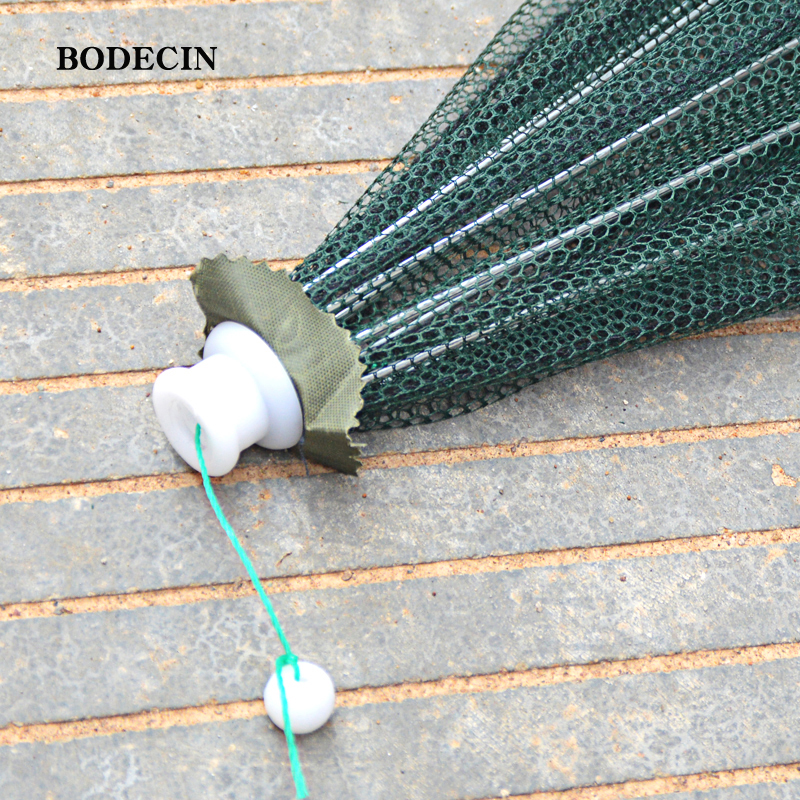 8 Hole Fishing Net Folded Portable Hexagon Fish Network Casting Nets Crayfish Shrimp Catcher Tank Trap China Cages Mesh Cheap (1)
