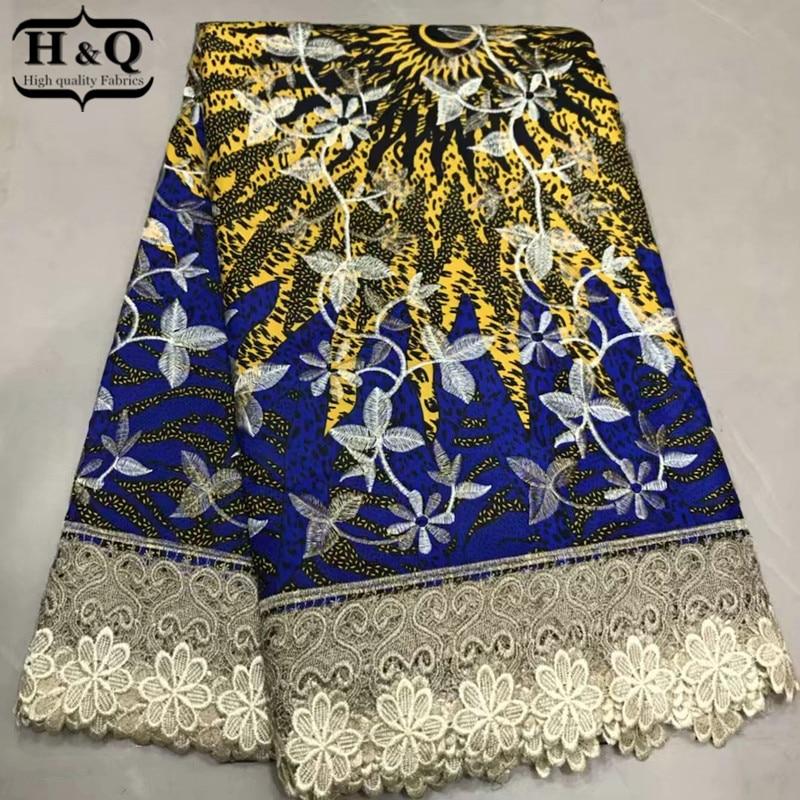 Ev ve Bahçe'ten Kumaş'de H & Q Son balmumu dantel tasarım afrika baskılar kumaş pamuk balmumu dantel kumaş 6 yards/lot garanti gerçek balmumu kumaş kadınlar için elbiseler'da  Grup 1