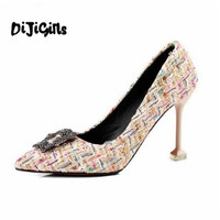 2018 новый стиль классические пикантные Обувь на высоком каблуке летний комплект ноги дикие ретро банкетный женская обувь лидер продаж попул...