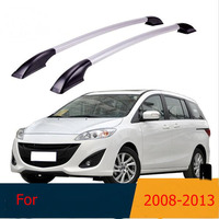 Roof Rack Boxes Side Rails Bars Luggage Carrier A Set For Mazda 5 M5 2008 2013 2009 2010 2011 2012