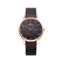 Наручные часы Obaku V217LXVNMN женские кварцевые на браслете