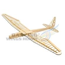 RC Glider Plane Sunbird Airplane Toy 1.6M Laser Cut Balsa Wo