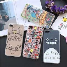 Totoro Phone Cases For iPhone 5/5S, 6/6S Plus, 7/7 Plus