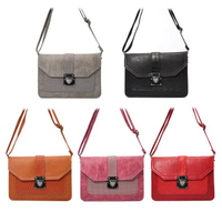 New Phone Bag Universal PU Leather Pouch Crossbody Small Bags For Below 6 3 Mobile Phones