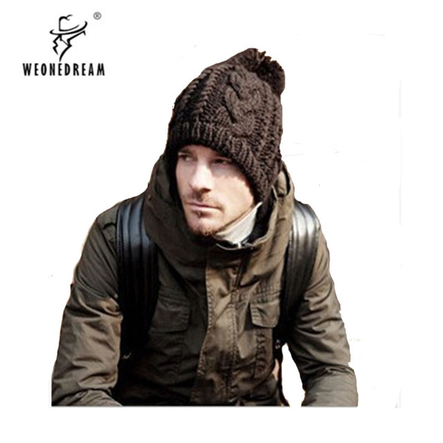 b38499311c18e3 Hot Products 2018 Winter hat knitted hat high fashion polo Men and Women  Warm Wool Cap 8 Colors free shipping
