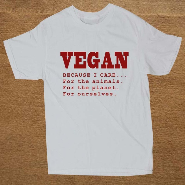 Because I Care for the Animals Planet Ourselves T Shirt15