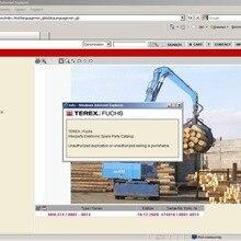 FUCHS Interparts каталог запасных частей для Terex