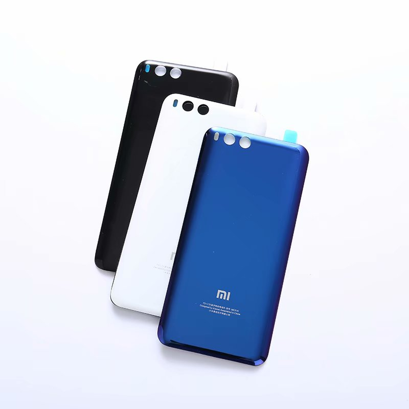 Mi6 Original Housing For Xiaomi Mi 6 Xiaomi6 Glass Battery Back Cover Mobile Phone Replacement Parts CaseMi6 Original Housing For Xiaomi Mi 6 Xiaomi6 Glass Battery Back Cover Mobile Phone Replacement Parts Case