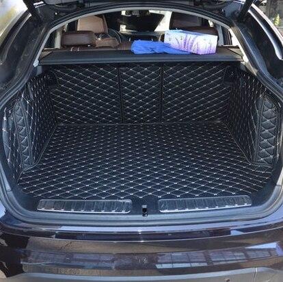 Haute qualité! Tapis de coffre de voiture complets pour BMW X4 F26 2017-2014 tapis de coffre imperméable pour BMW X4 2016, livraison gratuite