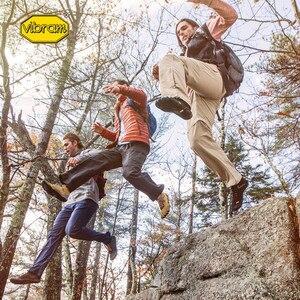 Image 5 - Vibram Fivefingers Trek zapatillas de deporte para hombre, calzado de senderismo para deportes al aire libre, entrenamiento de lana cálida para invierno, calzado de escalada de montaña