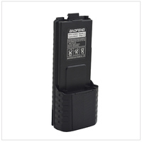 Siyah Baofeng UV-5R walkie talkie Li-ion pil 3800mAh 7.4V Baofeng UV-5R UV-5RA UV-5RB UV-5RC UV-5RD UV-5E TYT TH-F8