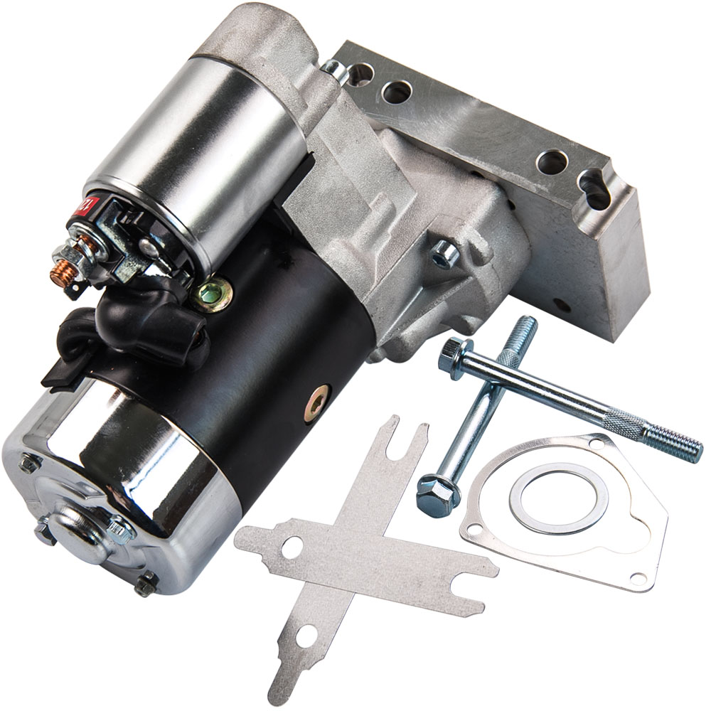 700HP Small and Big Block Starter Motor For CHEVY GM HD Mini 3HP 305 350 454 ATP 153 or 168 Tooth 327 350 400 SBC