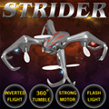 S6 4CH 2.4G 4Axis 360 Degree Roll Mini Drone Striders Model Toys Flashing MODE2 Helicopter