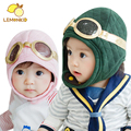 Hot Sale Baby Toddler Boy Girl Kids Pilot Aviator Cap Fleece Warm Hats Earflap Beanie Winter Cap Earmuff Hat handsome baby hat
