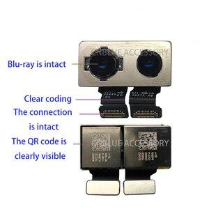 Image 2 - 100% oryginalny nowy powrót tylna kamera dla iPhone X powrót moduł aparatu Flex Cable wymiana część (testowane OK) darmowa wysyłka