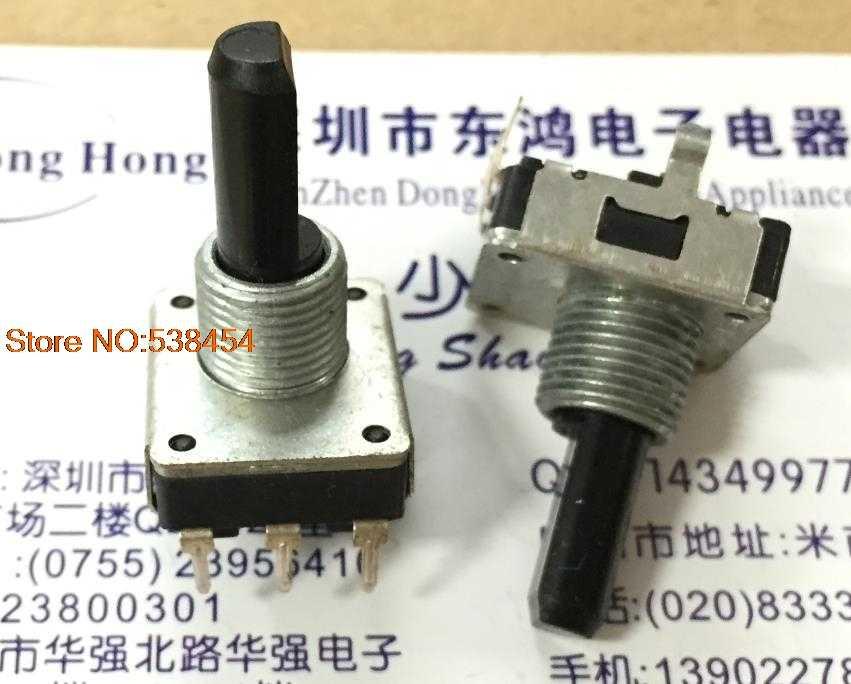 Encoder 16 Tipe 12 Posisi 12 Pulsa Nomor Sumbu Panjang 20 Mm Mesin Cuci Rotary Switch
