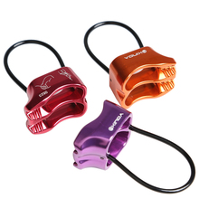Professional Rappel ATC Belay Device Aluminum 25KN Descender Outdoor Camping & Hiking Rock Climbing Equipment lixada 35kn 8 shape descender outdoor rock climbing carabiners abseiling downhill safety ring for device climbing equipment