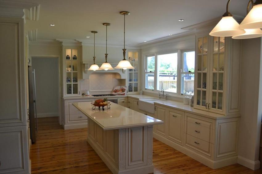 White Kitchen Furniture Design Popular In North America