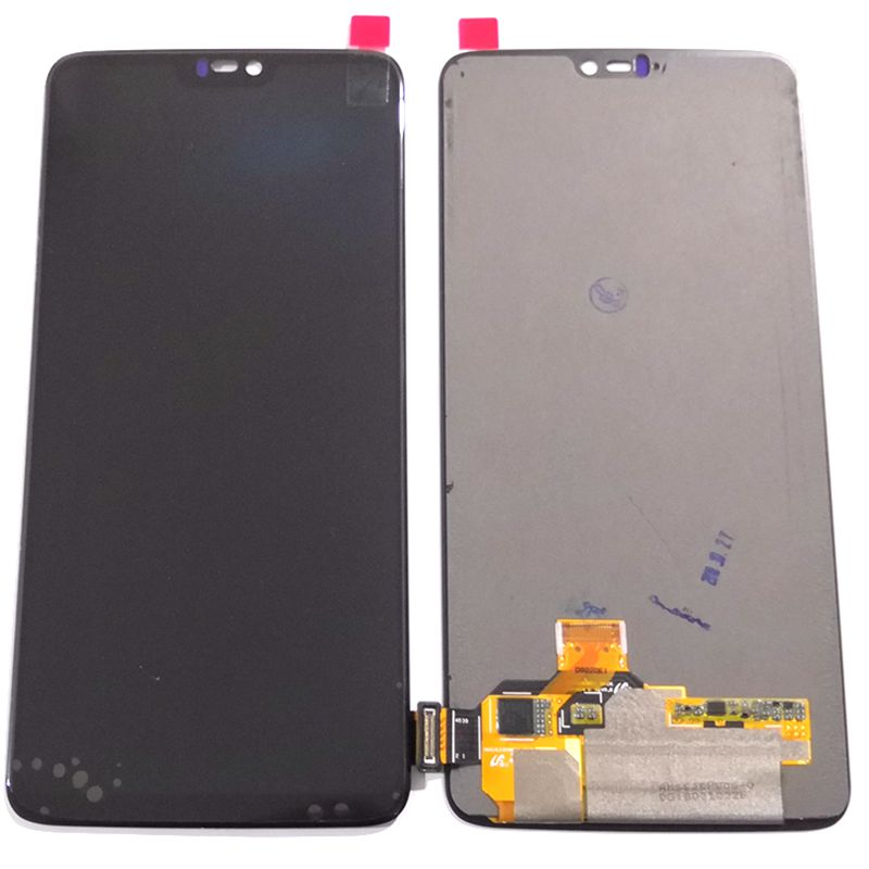 Amoled For <font><b>Oneplus</b></font> 6 <font><b>A6000</b></font> A6003 Lcd Screen DIsplay+Touch Glass Digitizer Assembly Pantalla Replacement Part oneplus6 amoled image