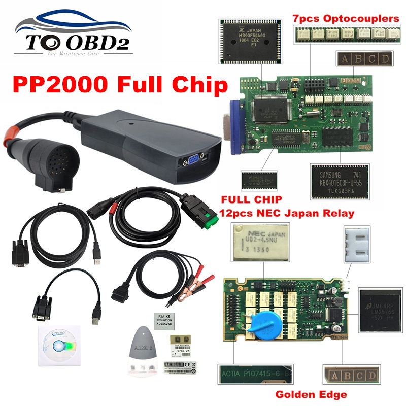 Free Ship Full Chips 2019 Diagbox V7.83 With 921815C Firmware Lexia3 PP2000 V48/V25 Lexia 3 For Citroen/Peugeot Diagnostic Tool