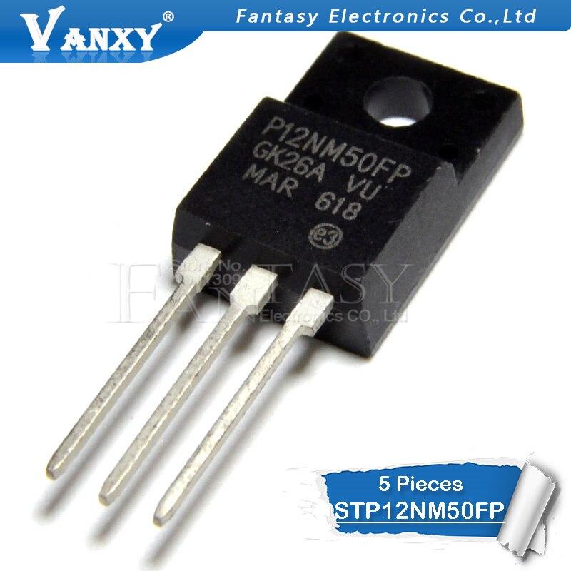 5PCS STP12NM50FP TO-220F STP12NM50 TO220F 12NM50 TO-220 12NM50FP 500V 12A  New Original