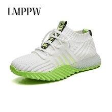Лучший!  Высокое качество спортивная обувь женская весна 2019 года новая спортивная обувь женская сетка дышащ