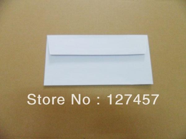 DemüTigen Westlichen Stil Mailer Dl 110x220mm Größe Blank Druckbare Umschlag Mit Self Sealing Kleber Papierumschläge
